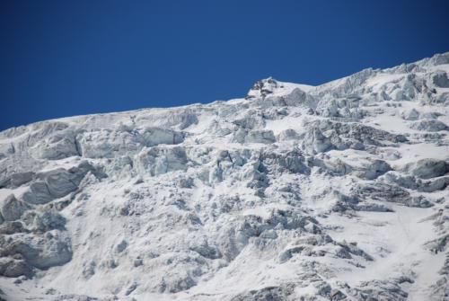 Glacier dans les alpes Suisse (Arola, Valais, Switzerland)